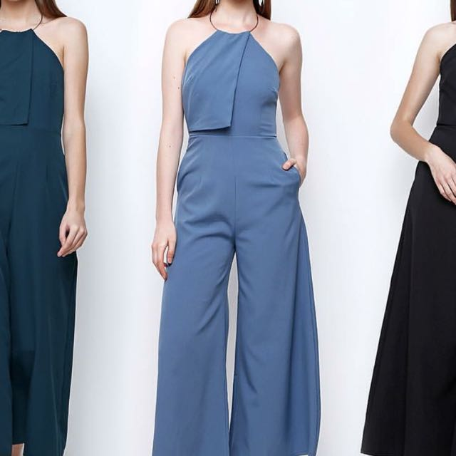 Kessica Jumpsuit In Blue