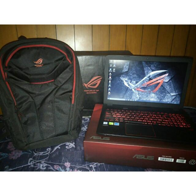 """Laptop Asus """"ROG"""" GL552VX"""