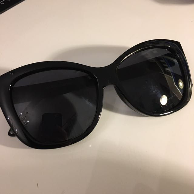 LE SPEC Genuine Large Black Sunglasses