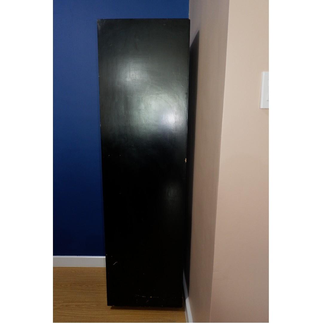Long Cabinet with Detachable Shelves