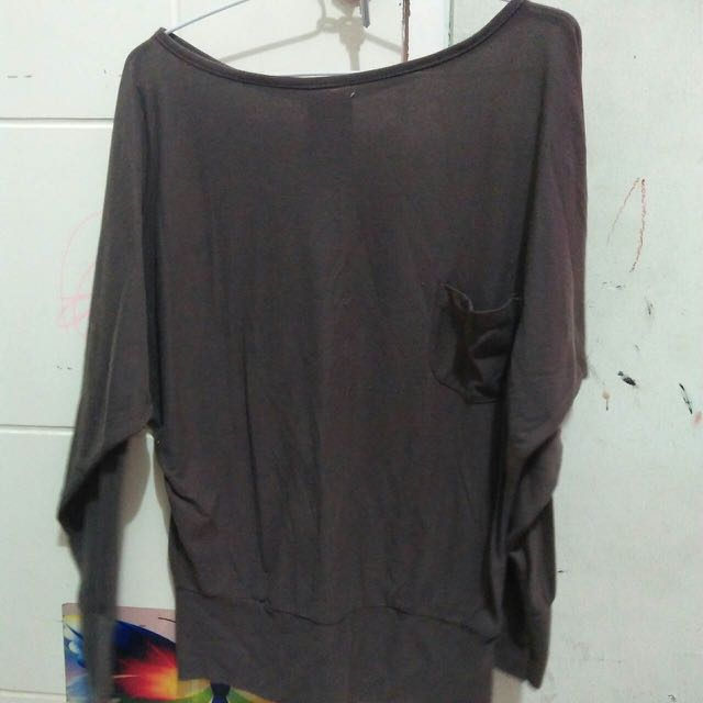 long sleeves two side