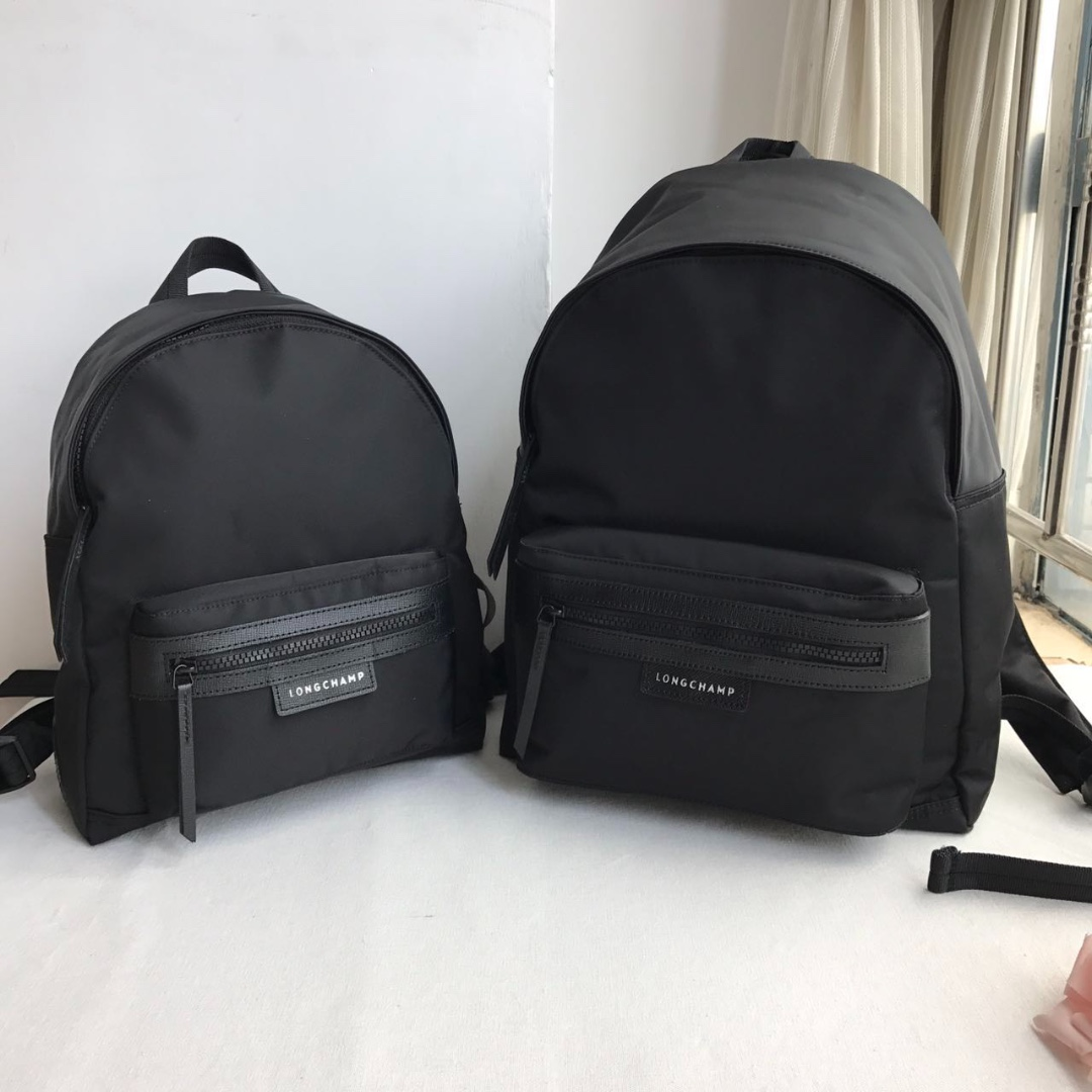 81aba3e941f 12.12 $88 Now! Longchamp Le Pliage Neo Backpack M - BLACK, Women's ...