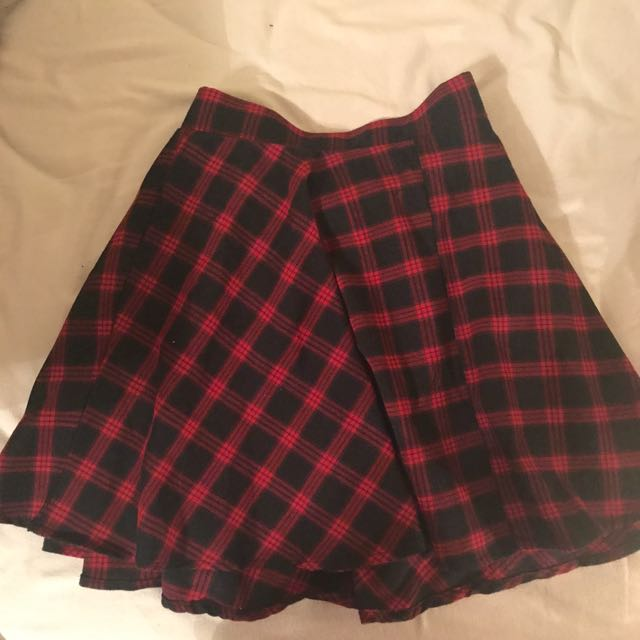 Lulu's Plaid Schoolgirl Skirt