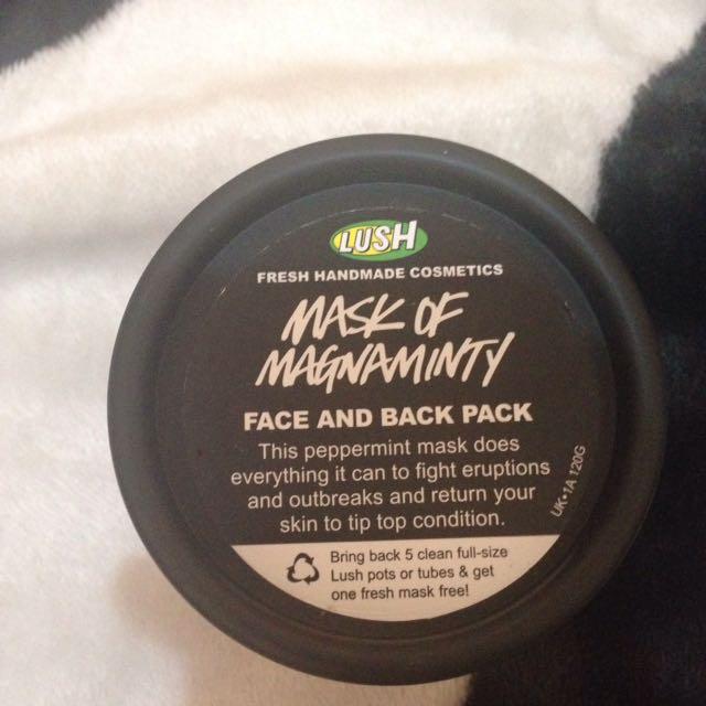 [TURUN HARGA] Masker Lush Mask Of Magnaminty