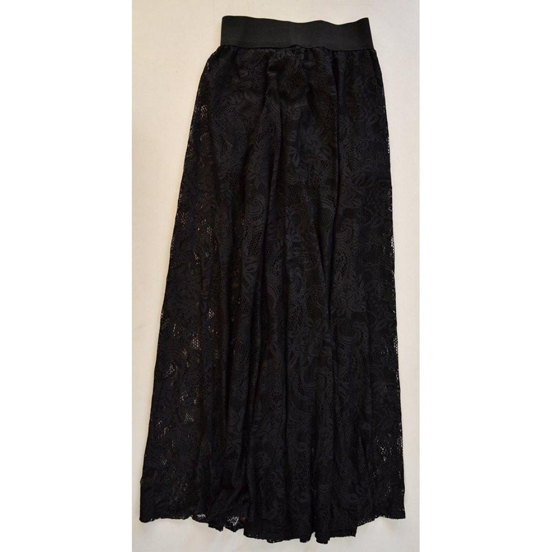 Maxi Skirt (See-through)