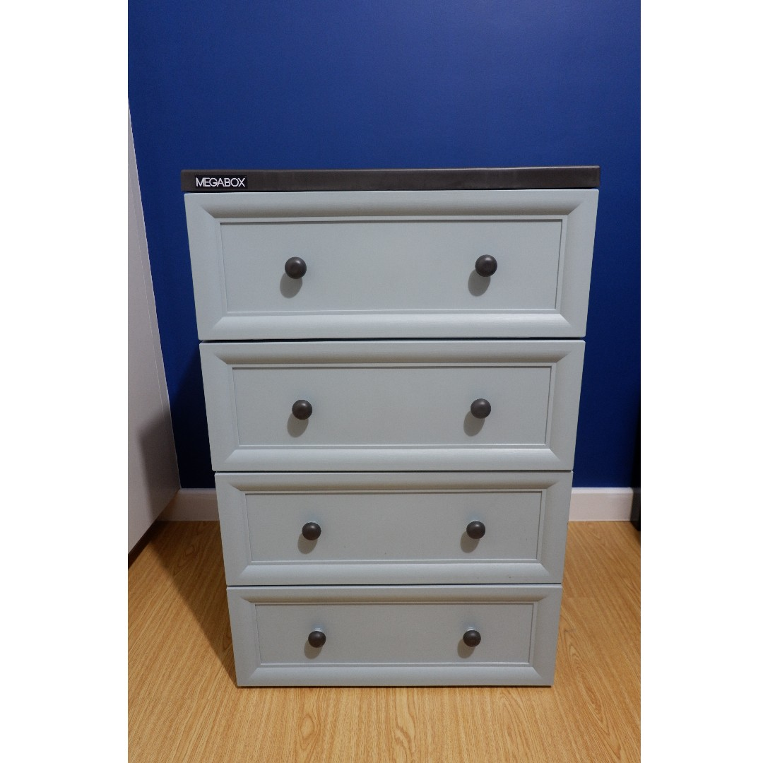 Megabox Cabinet with 4 Drawers