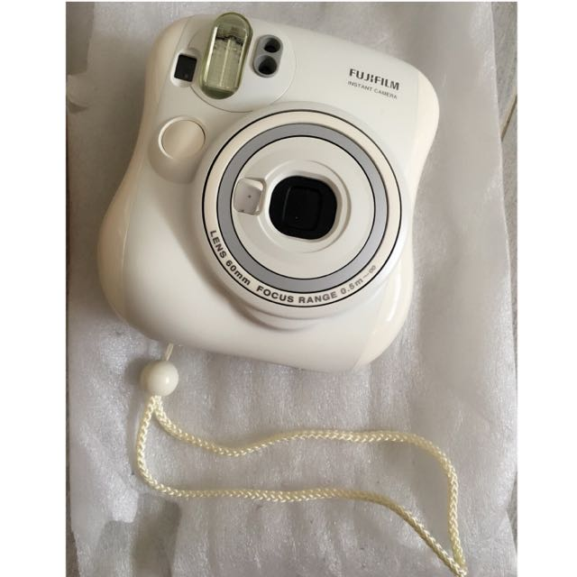 (誠可議)Mini25雪白拍立得相機Fujifilm Instax mini 25