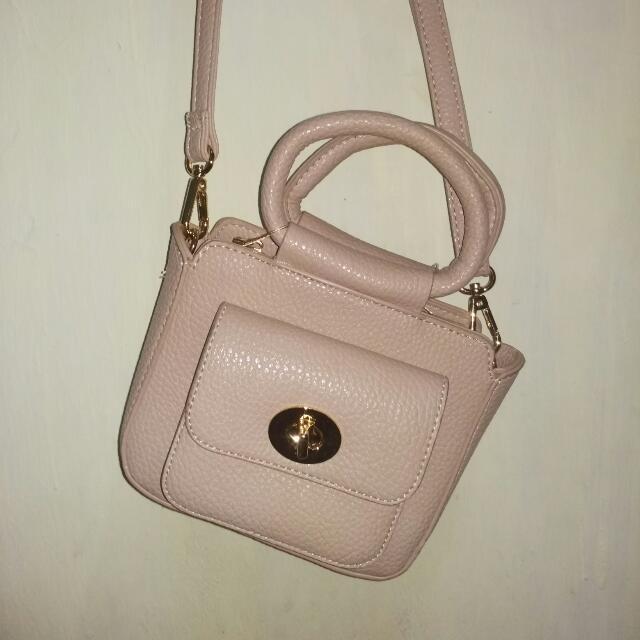 Mini Bag Khaki Cream Peach