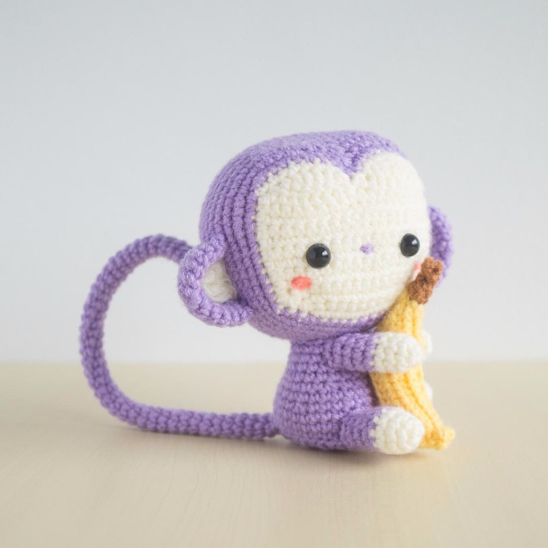Monkey from AllAboutAmi Amigurumi