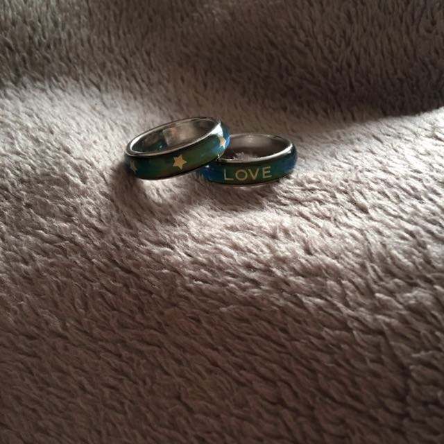 Mood Rings (1x Star and 1x Love)