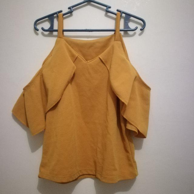 Mustard Flare Top