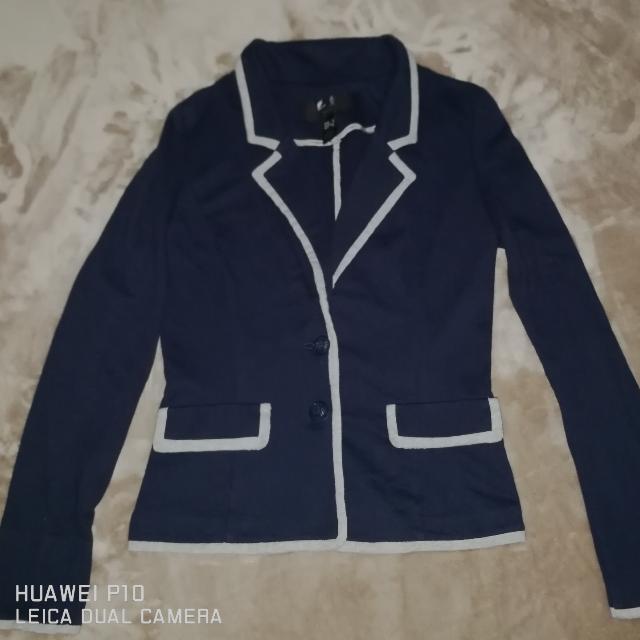 Navy Blue Blazer/Coat