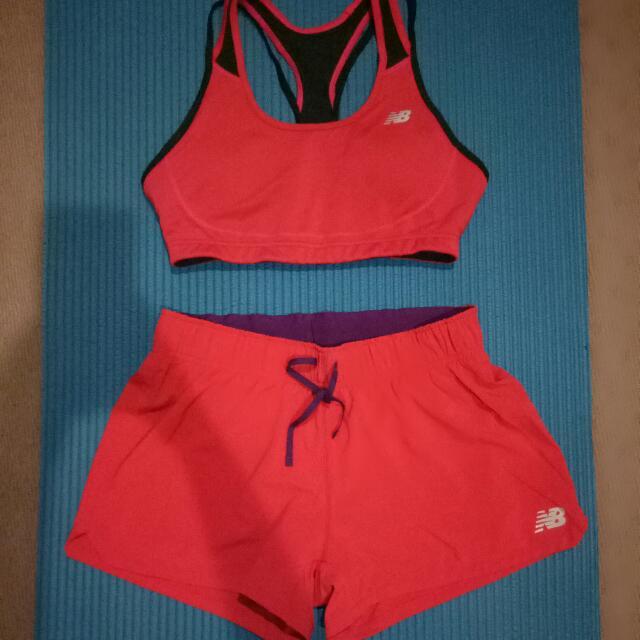 New Balance Sports Bar + Shorts
