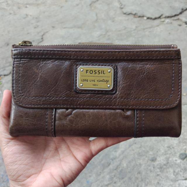 New Fossil Wallet Emory