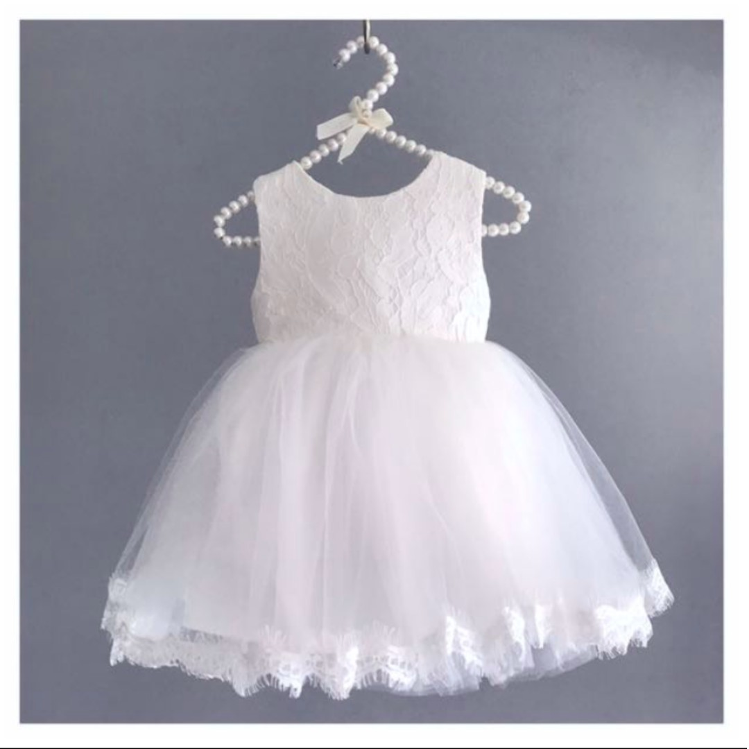 Rhea White Tutu Dress Birthday Performance Recital Formal Gown