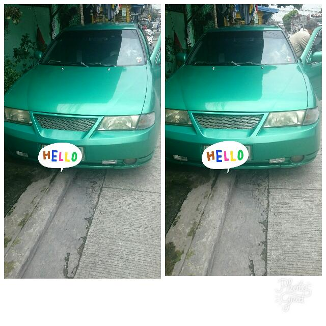 """Nissan sentra series 3 php 110k Model 1997 Loaded with good sound system  Tack ohmeter on side  Size 16"""" mag wheels  Good condition AC Engine working good 16 valve. negotiable... For more info.please look for mr.manny Contact. 09466517692"""