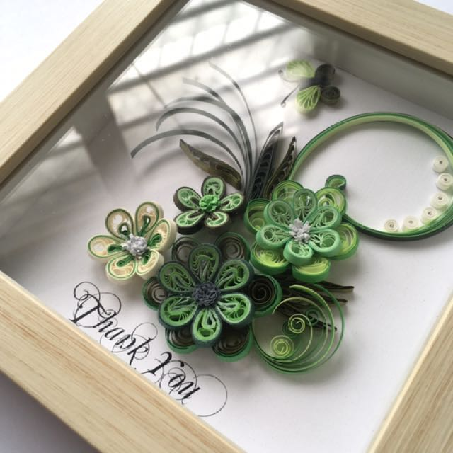 Paper Quilling Wall Frame