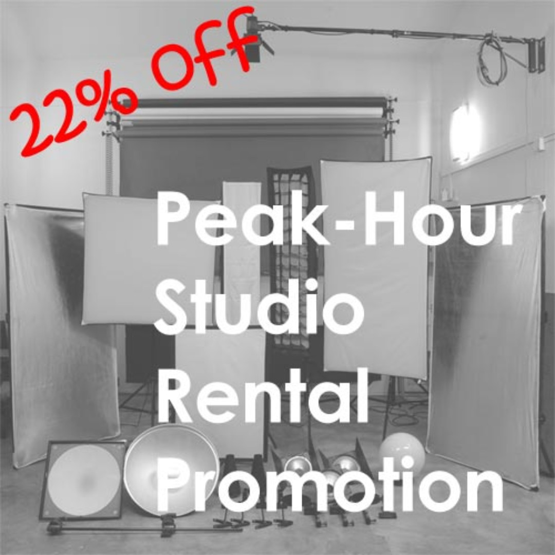 Peak-hour Studio Rental Promotion