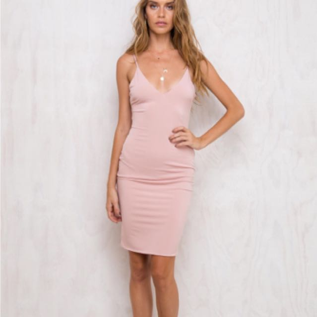 Pink Midi Dress Princess Polly