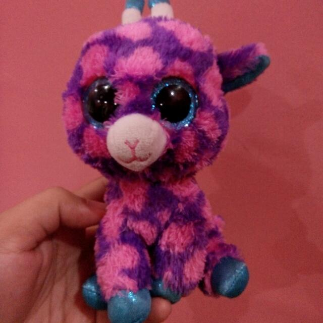 Pink Stuffed Tiger
