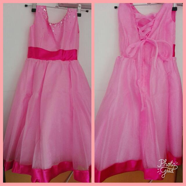 pre loved kiddie gown
