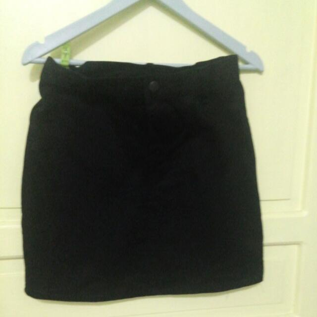 Preloved Maong Skirt