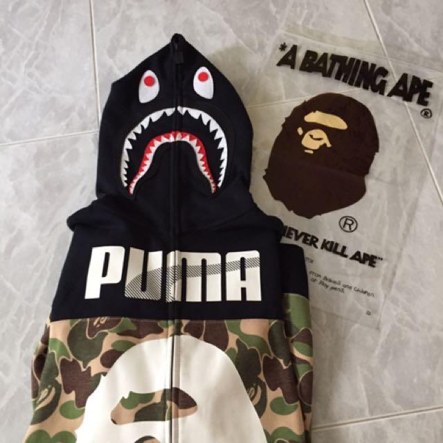 bape shark puma