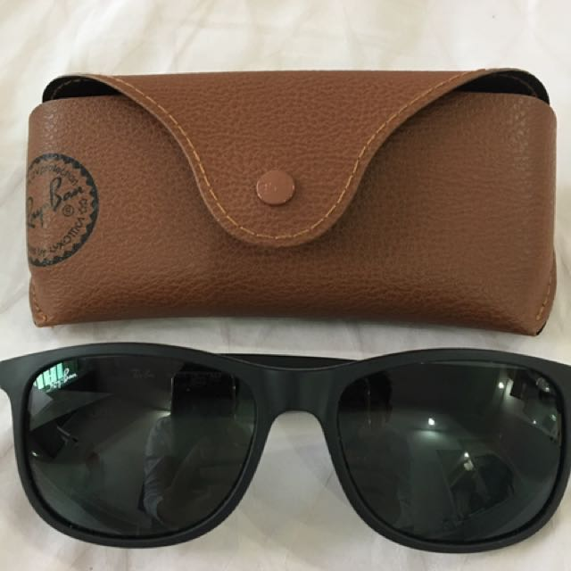 6828eeb51d9b ... spain rayban andy sunglasses mens fashion accessories on carousell  3a10f af68c ...