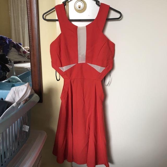 Red Temt Dress