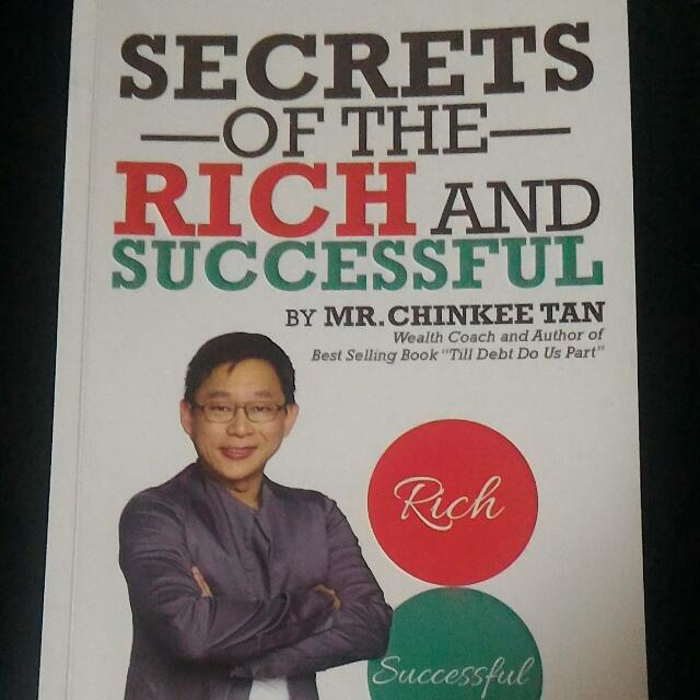 Secret Of Rich And Successful by Chinkee Tan