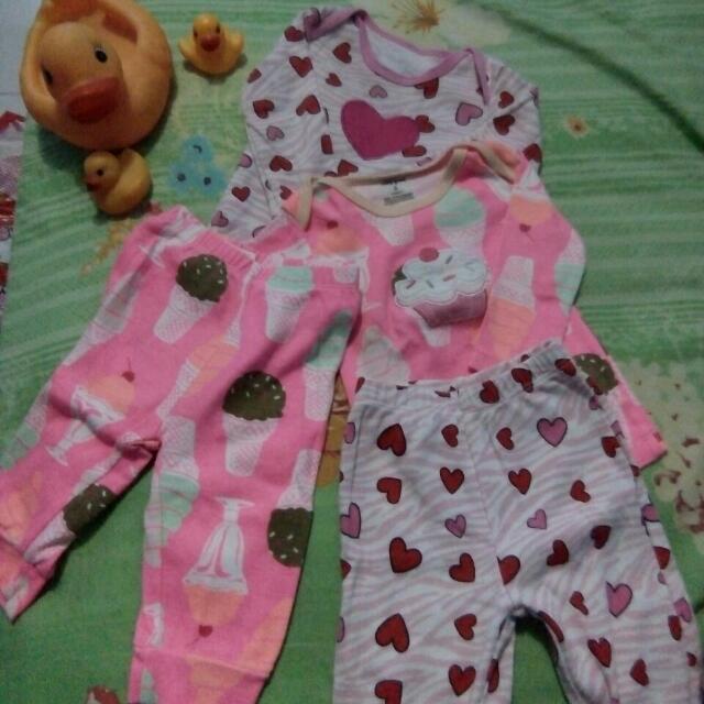 Setelan Baju Bayi 3-6bln