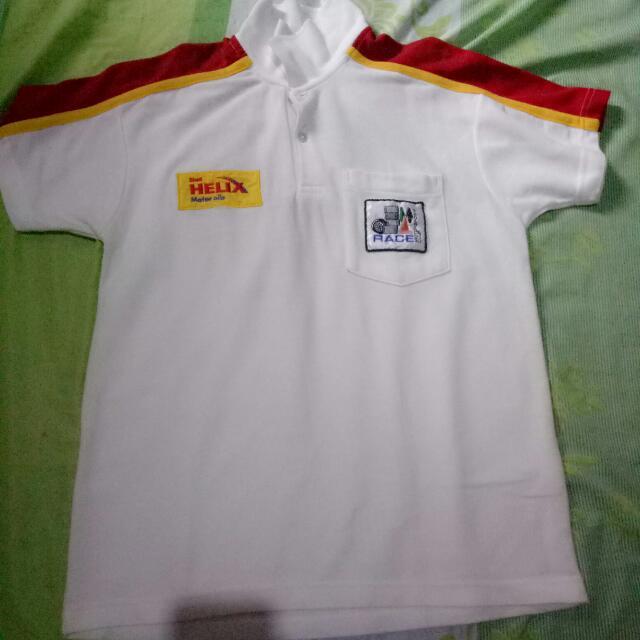 shell racing shirt