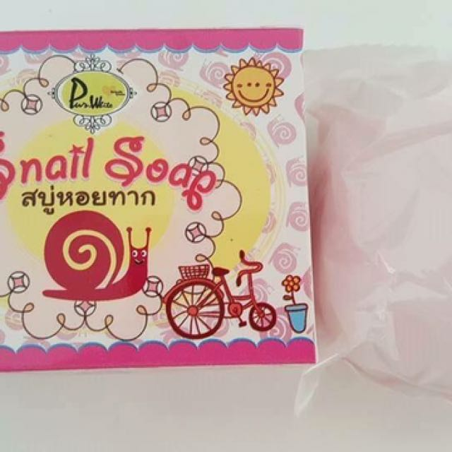 SNAIL SOAP by POB