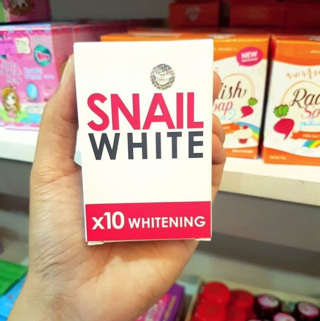 SNAIL WHITE x10 WHITENING - RED