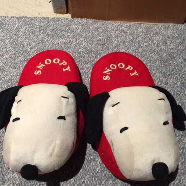 Snoopy Slippers