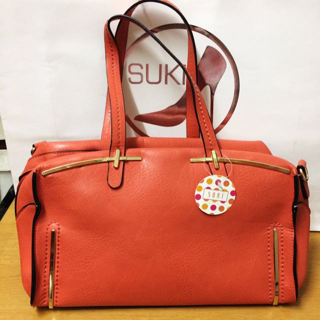 ❤️ SUKI Hand Bag Orange
