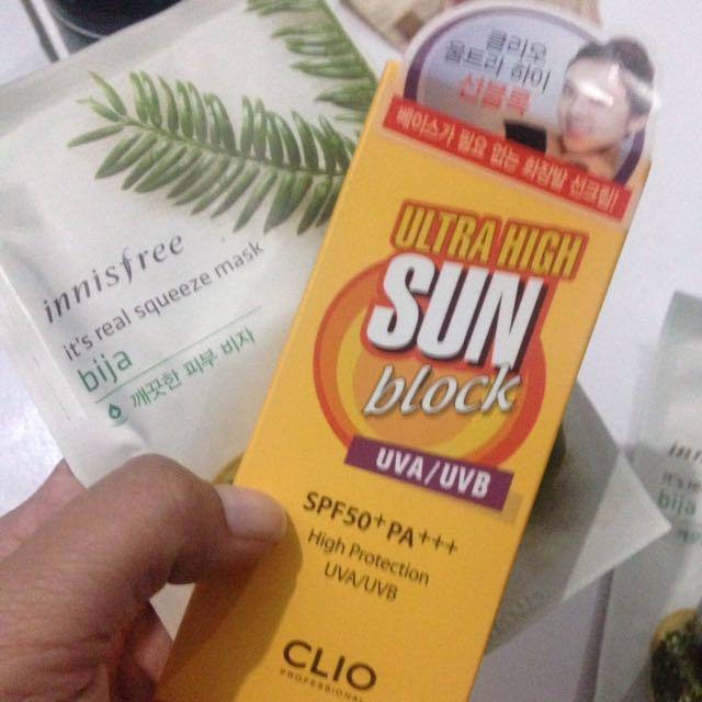 Sun Block CLIO