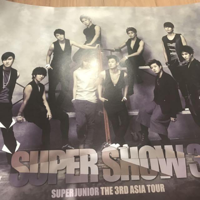Super Junior Super Show 3 Poster