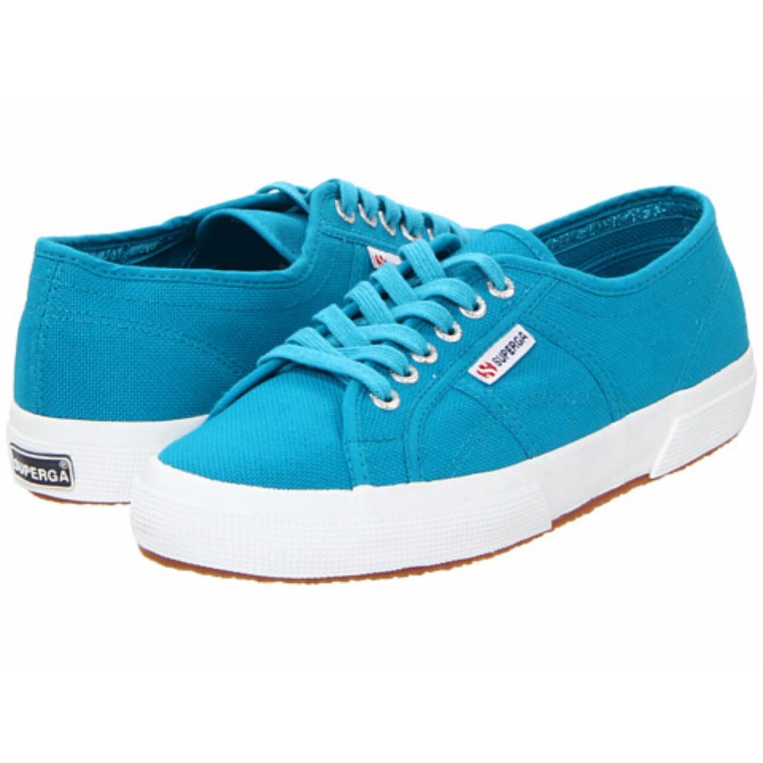 Superga 2750 Cotu Classic Sneaker Blue Caribe