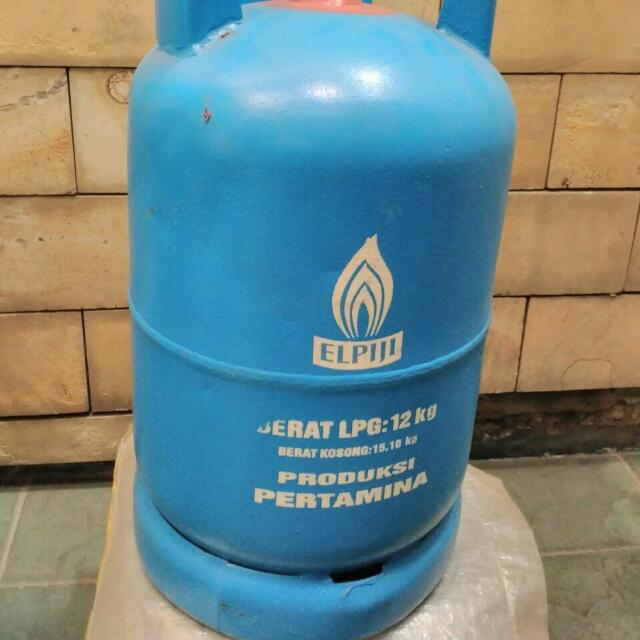 Tabung Gas 12 Kg Kondisi Baik