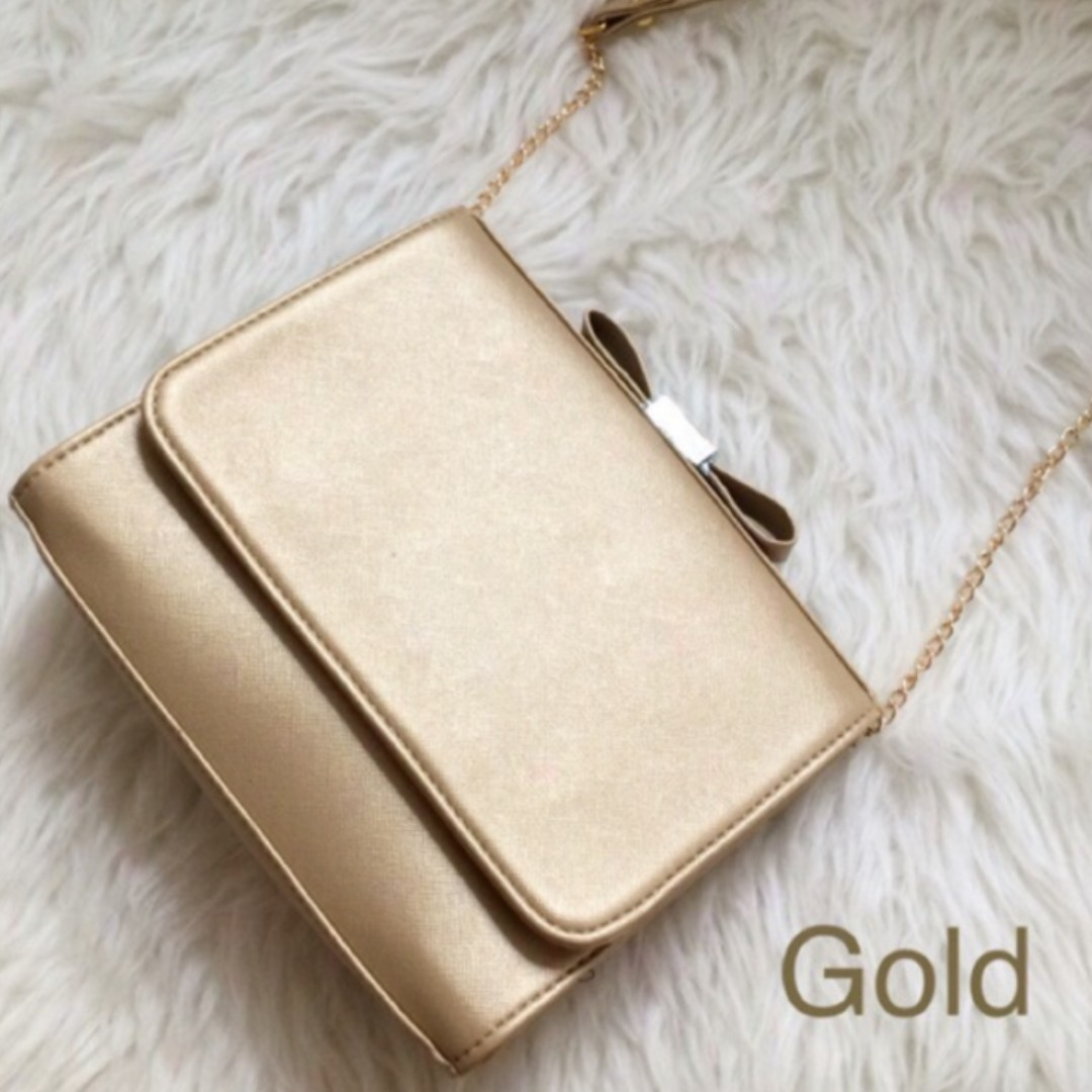 Tas Charles & Keith Little Bow Gold