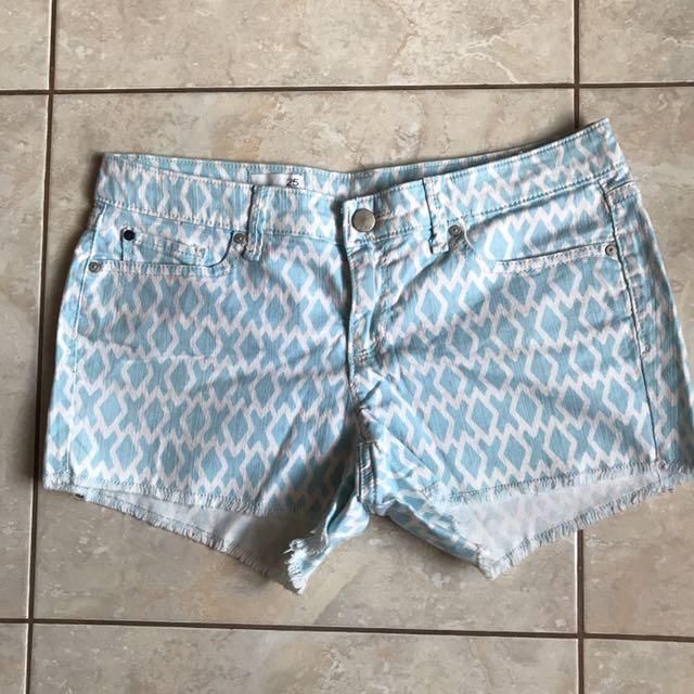 Tribal Blue Short