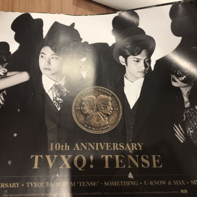 TVXQ/DBSK 10th Anniversary Poster