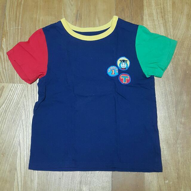 UNIQLO湯瑪士T恤男童短袖上衣