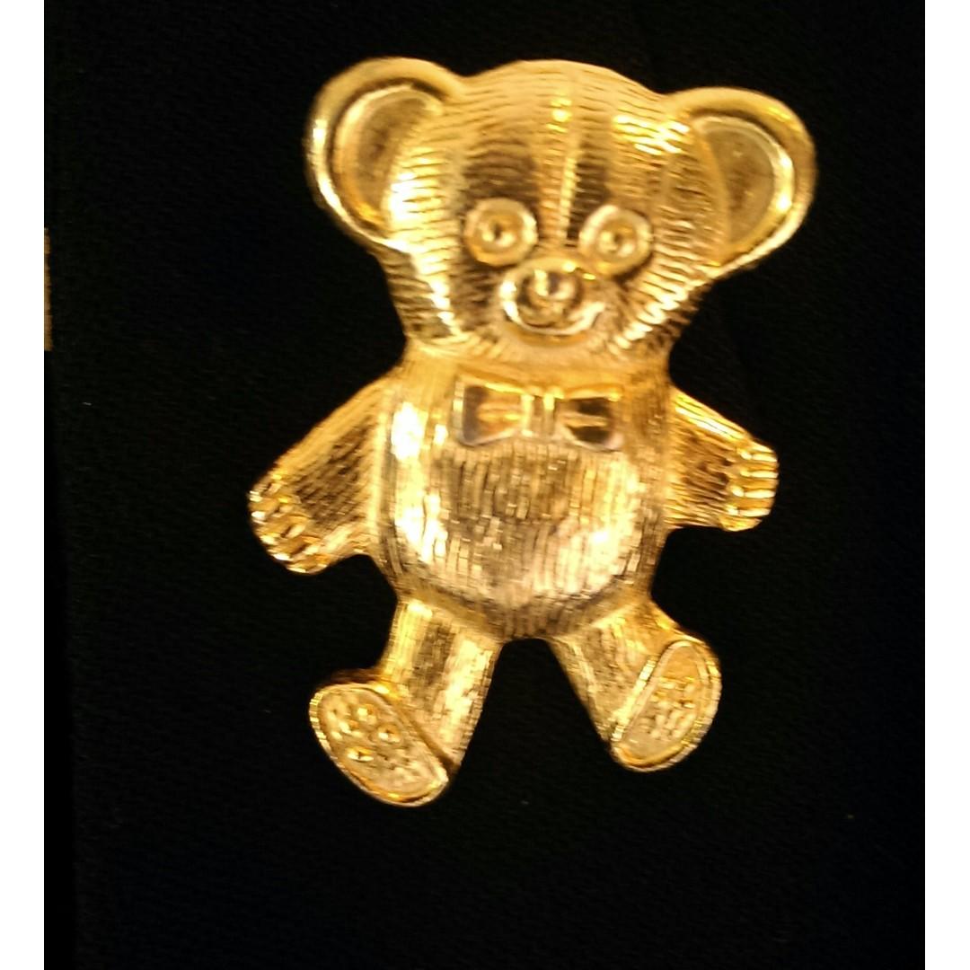 Vintage Teddy Brooch