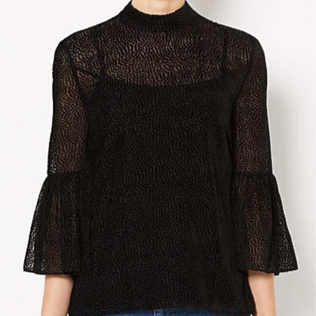 Witchery Flock Layer Blouse - Size 14