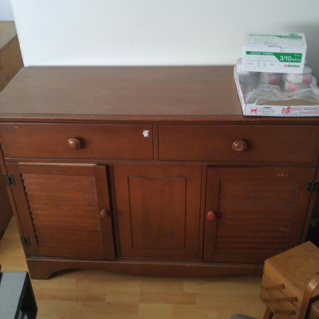 Wooden Display Unit/Hutch
