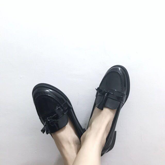 ZALORA Patent Loafers