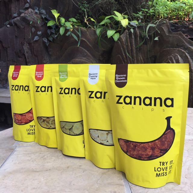 Zanana Chips Cemilan / Snack / Keripik Bandung