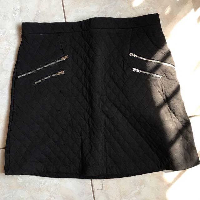 Zara Zip Skirt